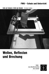 Wellen, Reflexion und Brechung - Christiani Schule trifft Technik