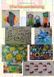 Impressionen Werkausstellung, 5. Juni 2013 - Schule Wittnau
