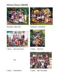 Wittnauer Klassen 1999/2000 - Schule Wittnau