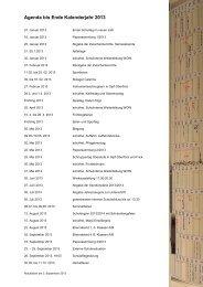 Anlässe und Termine 2013 - Schule Wittnau