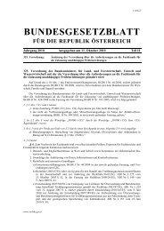 Änderung der Verordnung über die Anforderungen an ... - Schule.at