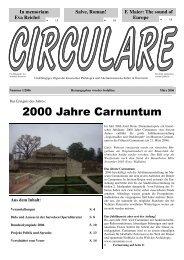 2000 Jahre Carnuntum - Schule.at