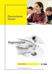 Hygieneplan für österreichische Schulen - Schule.at