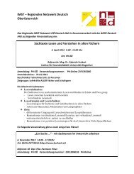 IMST – Regionales Netzwerk Deutsch Oberösterreich Sachtexte ...