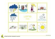Lotto - Wort & Bild: Wetter - Schule.at