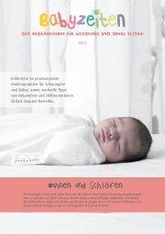 Katalog Babyzeiten | Wohnen und Schlafen