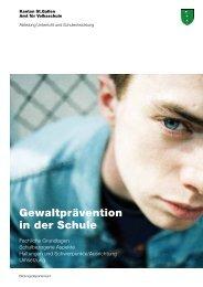 Gewaltprävention in der Schule – Fachliche Grundlagen (1518 kB ...