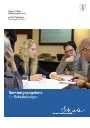 Beratungsangebote für Schulleitungen - schule.sg.ch - Kanton St ...
