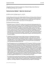Kantonsschule Wattwil – Stand der Sanierung? - schule.sg.ch