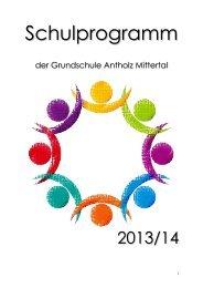Schulprogramm GS Antholz Mittertal zum Herunterladen in PDF
