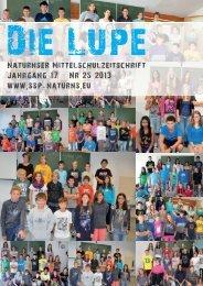 Arbeit an der Lupe - Kindergarten und Schule in Südtirol