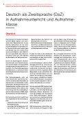 Deutsch als Zweitsprache in Aufnahmeunterricht ... - Schule Winterthur - Seite 2