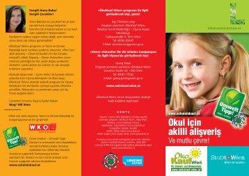 akilli alisveris - Clever einkaufen für die Schule