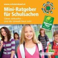 Mini-Ratgeber für Schulsachen - Clever einkaufen für die Schule
