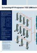 Schwenkgriff-Programm 1150 Unitech - EMKA Beschlagteile - Seite 2