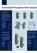 Schwenkgriff-Programm 1150 Unitech - EMKA Beschlagteile - Seite 4