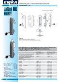 Schwenkgriff-Programm 1150 Unitech - EMKA Beschlagteile - Seite 6