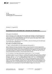 An die Schulleitungen Sek I des Bildungsraums ... - Schulen Aargau