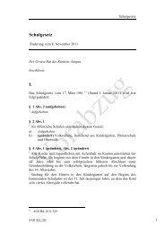 """Schulgesetz Ã""""nderung Vorabzug"""