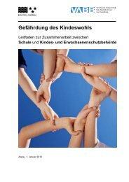 Leitfaden zur Zusammenarbeit von Schule und Kindes