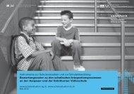 Bewertungsraster zu den schulischen Integrationsprozessen