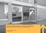 Die externe Schulevaluation an der Aargauer Volksschule