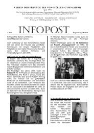 Rundbrief 02/2009 im pdf-Format [97 kb]. - Schulen in Regensburg