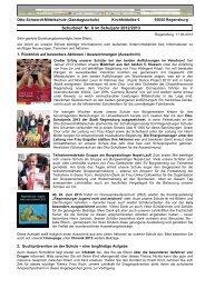 6. Schulbrief im Schuljahr 2012/2013 - Schulen in Regensburg ...