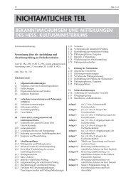 FOS Verordnung vom 23-11-2011 - Technische Universität Darmstadt