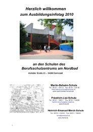 In der Martin-Behaim-Schule - Technische Universität Darmstadt