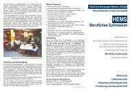 Berufliches Gymnasium - Technische Universität Darmstadt