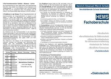 Info-Broschüre - Technische Universität Darmstadt