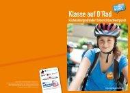 Informationsfalter Klasse auf D`Rad - Schulen mobil