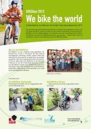 BIKEline - Tiroler Fahrradwettbewerb 2013