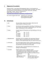 Reglement über Schulreisen, Exkursionen und ... - Schule Nottwil