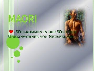 Maori- Ein Volk !!!! - Schule Nottwil