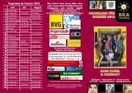PROGRAMM FÜR SOMMER 2012 ADES ZABEL ... - BKA-Theater