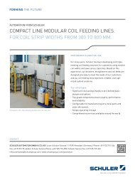 Modular Coil feeding lines in long space design