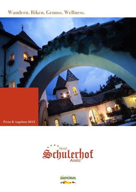 Preise 2013 - Hotel Schulerhof