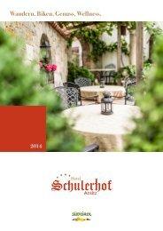 Preise 2014 - Hotel Schulerhof