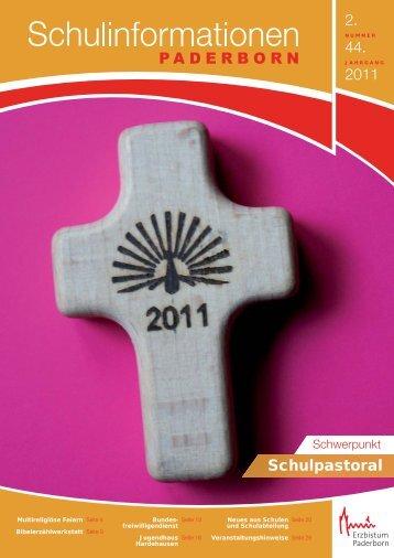 stellen wir Ihnen das Heft 2/2011 - Institut für Religionspädagogik ...
