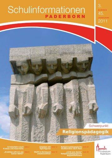 stellen wir Ihnen das Heft 3/2011 - Institut für Religionspädagogik ...