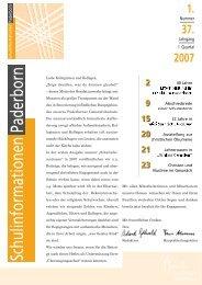 1/07 - Institut für Religionspädagogik und Medienarbeit