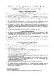 5.12 Rahmenschulordnung für die Schulen des Erzbistums Paderborn