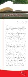 steht der Brief von Erzbischof Hans-Josef - Schule und Erziehung
