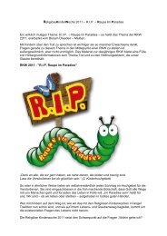 finden Sie weitere Einzelheiten zur RKW 2011 - Schule und Erziehung