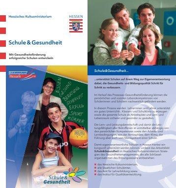 Flyer - Schule & Gesundheit - Hessen