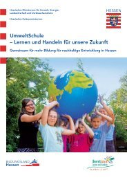 UmweltSchule - Schule & Gesundheit - Hessen
