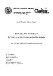 360°-Feedback für Schulleitungen Ein Verfahren zur Identifikation ...