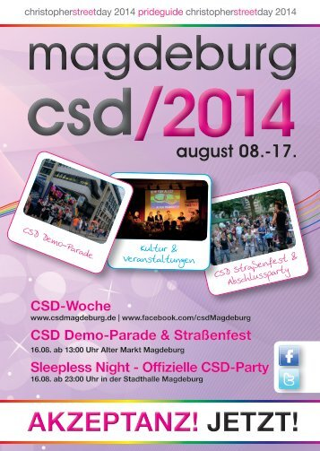 CSD Magdeburg 2014